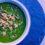 Nutrient-Rich Nettle Soup (vegan + gluten-free)