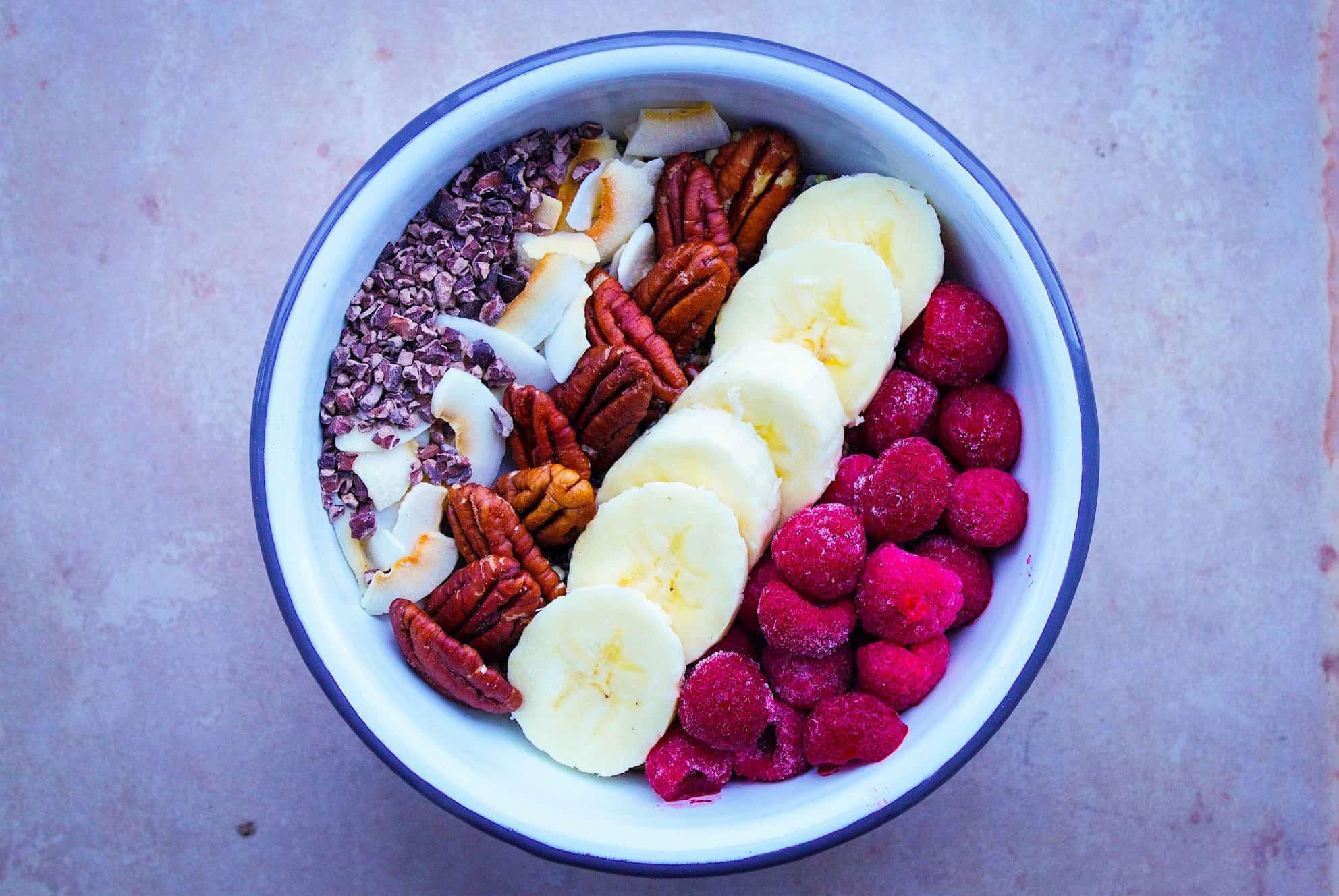 Chocolatey Pecan Chia Cereal (vegan + gf + sugar-free)