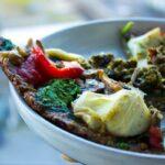 Superfood Funghi Flatbread (vegan + gluten-free)