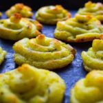 Herby Duchess Potatoes (vegan + gf)