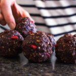 Hazelnut Cacao Goji Energy Balls (vegan + gf)