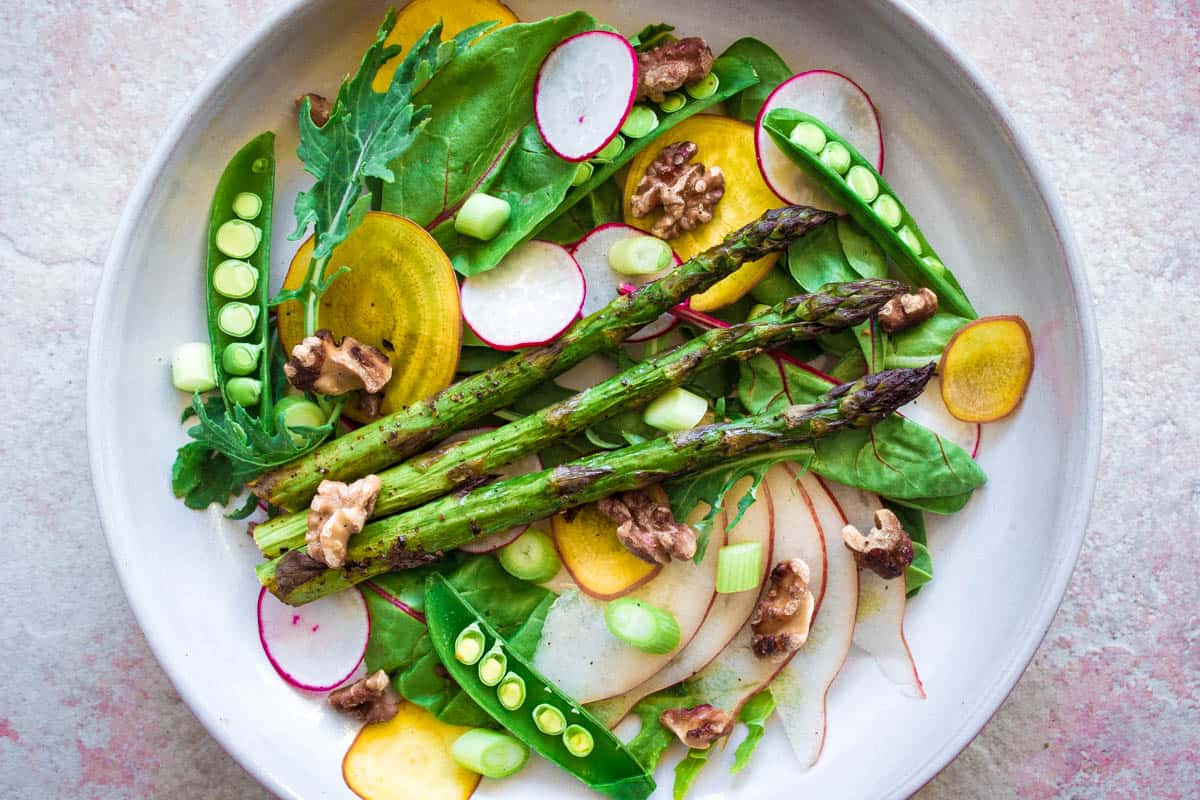 Spring Colours Salad (vegan + gluten-free)