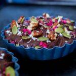 Chocolate Navy Bean Mousse (vegan + gf + sugar-free)