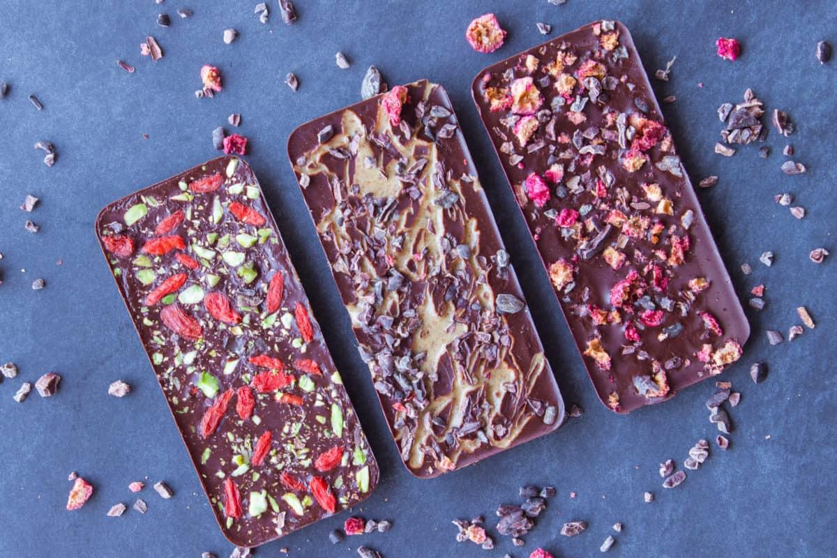 3 Ingredient Sugar-free Chocolate