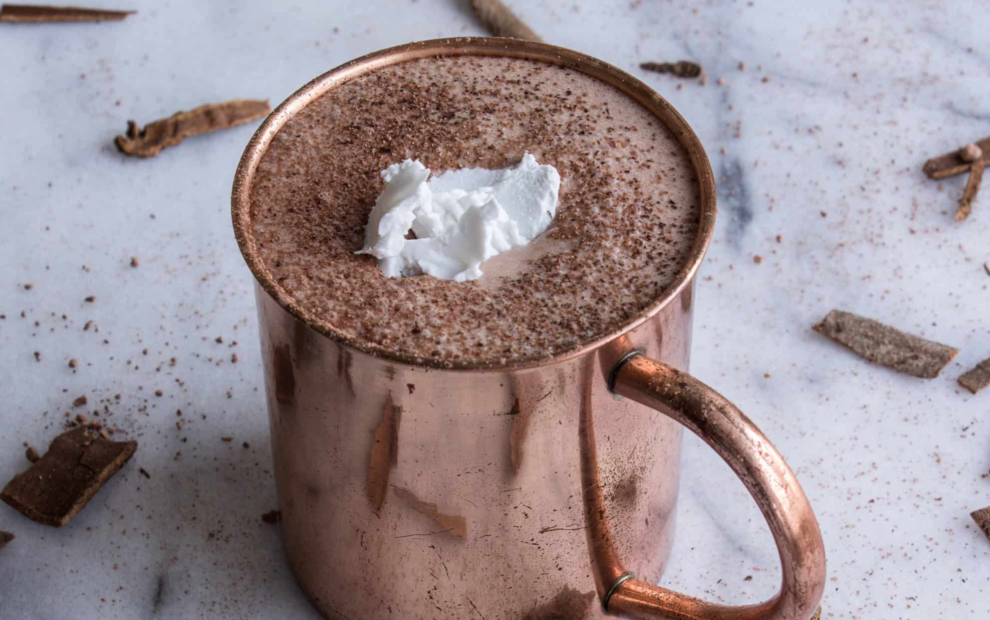DIY Vegan Hot Chocolate