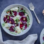 Winter Beet & Artichoke Salad (vegan & gf)