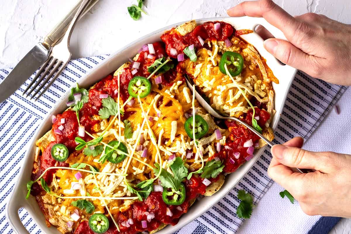 Vegan Enchiladas by Vancouver with Love - How to Go Vegan in 2021.